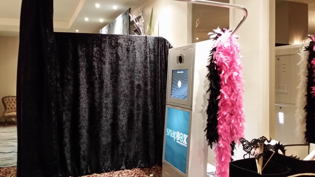 Modern and Spacious Photo Booths