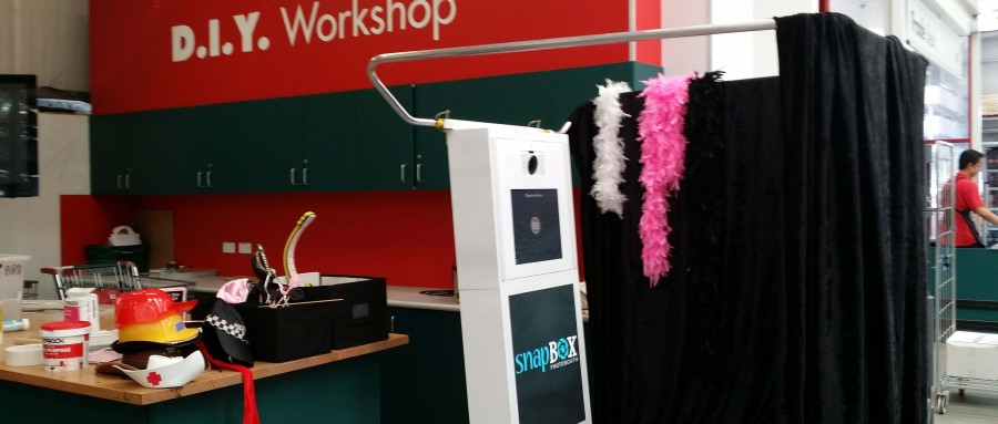 Booth suitable for many types of events Corporate, Wedding and Personal parties!