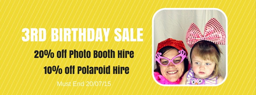 Photo Booth Discount Sale