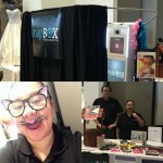 Bridal expo Photo booth setup